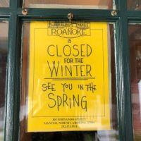 The Roanoke Island Inn, Closed for the Season