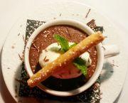 Chocolate Pot De Crème - 1587 Restaurant