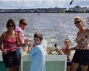 Shrimping-crabbing Cruise - Captain Johnny's Dolphin Tours