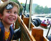 Battle With Water Cannons -  Pirate Adventures of the Outer Banks