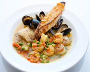 Fresh Seafood Dishes - 1587 Restaurant