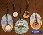 Music Ornaments - Bluegrass Island Store & Box Office