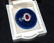 Ruby and Diamond Ring - Muzzie's Fine Jewelry & Gifts