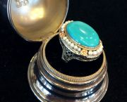 Antique Turquoise Ring - Muzzie's Fine Jewelry & Gifts