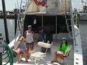 Fishing Taxi Sportfishing, Taking the kids out fishing