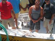 Fishing Taxi Sportfishing, A mixed group having fun
