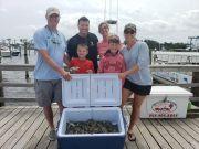 Grandpa's Charters, Family Crabbing