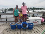 Grandpa's Charters, Educational Shrimping Family Fun