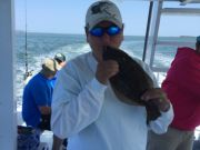 Crystal Dawn Head Boat Fishing and Evening Cruise, Nonie from Chesapeake with a 15.5 inch flounder!!