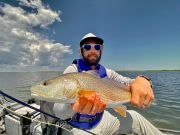 obx flyfishing reddrum fishing