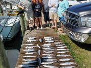 Fishin' Fannatic, Great Day of Spanish Mackeral Fishing here on the Outer Banks
