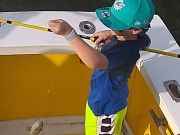 Fishing Taxi Sportfishing, When rough is too rough for the youngins