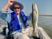 speckled trout kayak fishing outer banks fly fishing saltwater fishing adventure