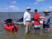 puppy drum OBX outer banks fishing Kayak Adventure Fun