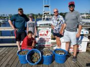 Grandpa's Charters, Shrimping Family Fun