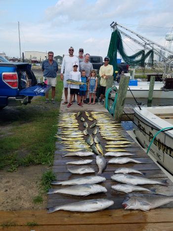 Fishin' Fannatic, Great Family Day Offshore here on the Outer Banks