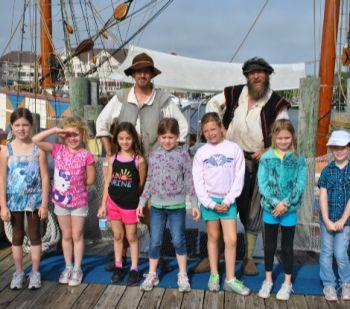 Roanoke Island Festival Park, Girl Scout Day