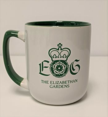 Elizabethan Gardens, Elizabethan Gardens Ceramic Coffee Cup