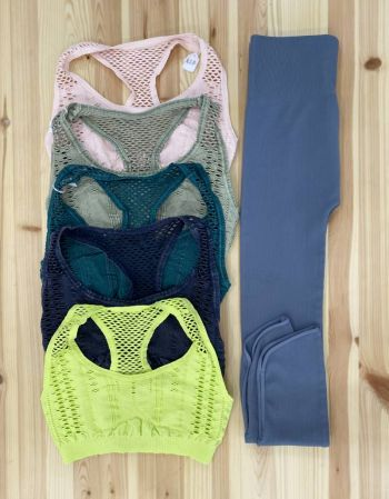 Bloom Boutique, Nikibiki Bralettes and Leggings