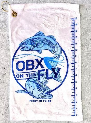 OBX on the Fly, Logo Fish Towel