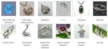 Silver Bonsai Gallery, Modern Heirloom Jewelry