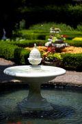 Elizabethan Courtyard at The Elizabethan Gardens in Manteo, NC