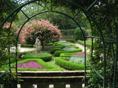 Archway at The Elizabethan Gardens in Manteo, NC