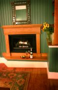 Featherstone fireplace at Cameron House Inn