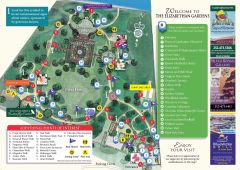 Map of The Elizabethan Gardens