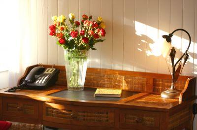 Mirabella desk at Cameron House Inn