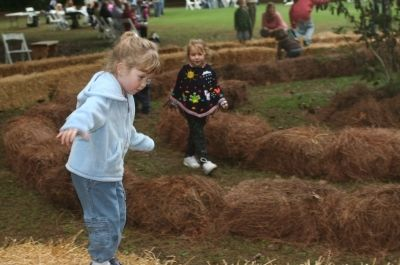 Harvest Hayday at The Elizabethan Gardens in Manteo, NC
