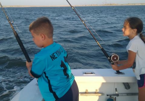 Fishing Taxi Sportfishing, Half Day Sound Fishing Trip (Evening)