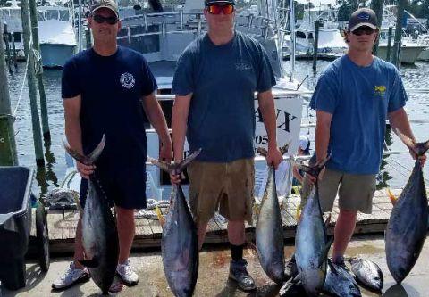 Phideaux Fishing, Offshore Charter