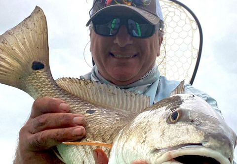 OBX on the Fly, Harry's Electric Kayak Fishing Trip
