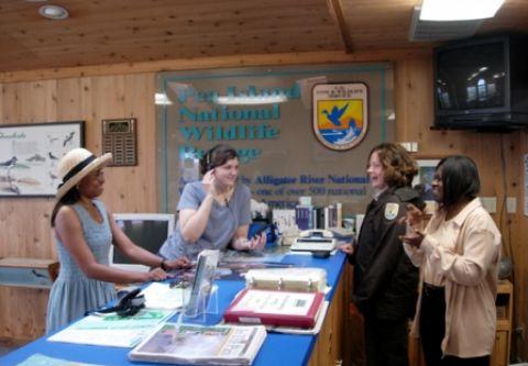 Alligator River National Wildlife Refuge, Visit our Visitors' Center