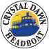 Logo for Crystal Dawn Head Boat Fishing and Evening Cruise
